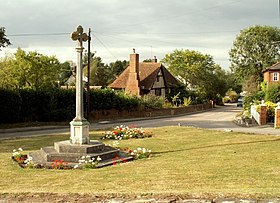 War Memorial at Little Hadham, Herts. - geograph.org.uk - 217317.jpg