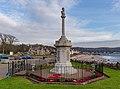 War memorial, Millport, Cumbrae, Scotland 02.jpg