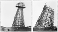 Wardenclyffe tower tesla new york demolition july september 1917.png