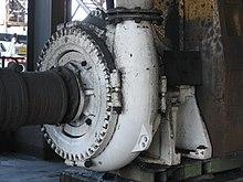 Устройство центробежного водяного насоса
