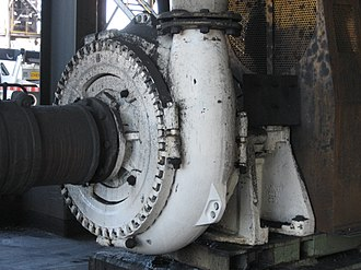 Centrifugal pump - Warman centrifugal pump in a coal preparation plant application