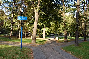 Sue Ryder - Park in Warsaw named after Sue Ryder