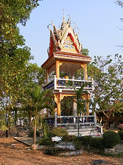 Wat Kham Chanot - Drum tower.JPG