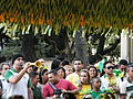 Watching Brazil & North Korea match at World Cup 2010-06-15 in Cinelândia.JPG