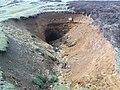 Water Erosion has exposed mine workings - geograph.org.uk - 791234.jpg