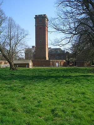 Raynham Hall - The Water Tower, Raynham