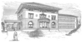 Waterbury Bronson Library 1896 sketch.png
