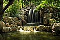 Waterfall at The Chinese Gardens of Friendship.jpg