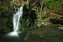DistrictofMitrovica-Hydrography-Waterfall in Bajgora Village