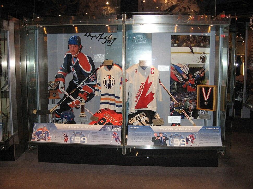 Wayne Gretzky-HHOF
