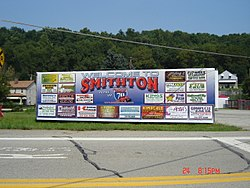 Smithton welcome sign