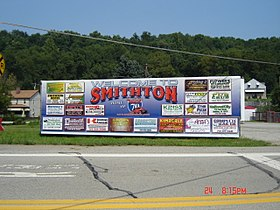 Welcome to Smithton sign 2007.jpg