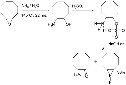 9-Azabicyclo[6.1.0]nonane synthesis