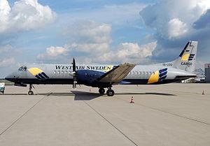 West Air Sweden - West Air Sweden British Aerospace ATP