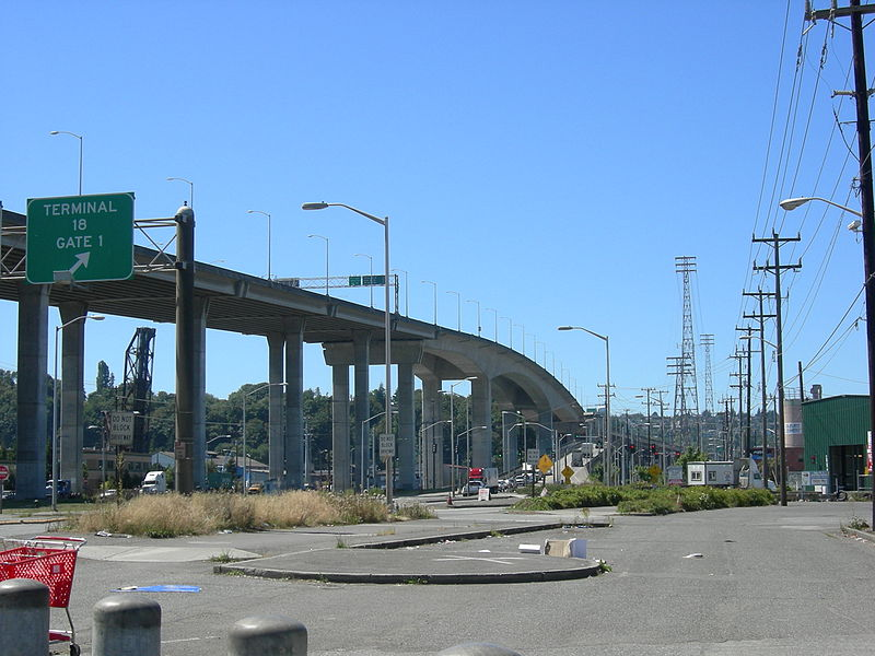 The West Seattle Bridge (wikimedia)