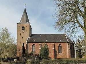 Westerbork (village) - Westerbork church in 2011