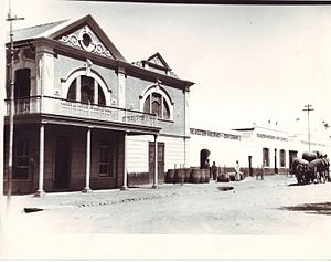 Worcester, Western Cape - Western Wine and Brandy Company, Porter Street