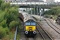 Weston-super-Mare - West Coast 57313 rear of empty stock from Bristol.JPG