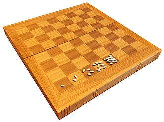 Wheat and chessboard problem - By the time that the fifth square is reached on the chessboard, the board contains a total of 31 grains of wheat.