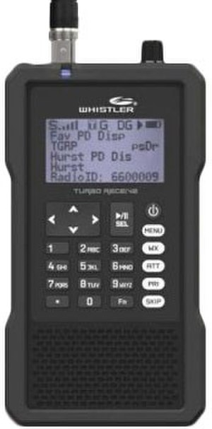 Scanner (radio) - Whistler TRX-1 Digital Police Scanner Radio