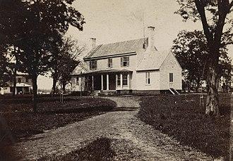 White House (plantation) - White House plantation, 1862