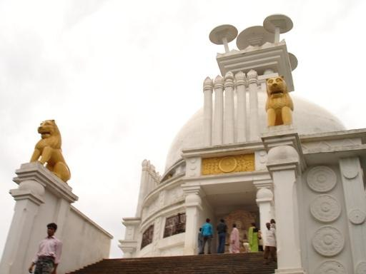 White Pagoda Dhauligiri India