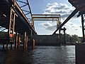 Whittier Bridge- Gantry Crane and Rail System Moving Along (May 2016) (27692912785).jpg