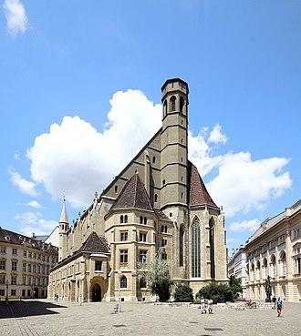 Minoritenkirche - Image: Wien Minoritenkirche