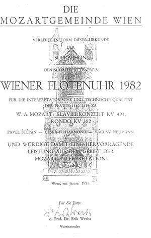 Václav Neumann - Wiener Flötenuhr 1982