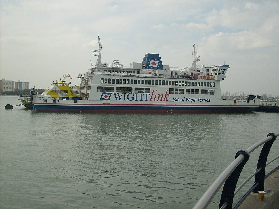 Wightlink St Catherine Ferry Gunwharf Quays