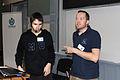 Wikiconference 2013 Prague, Marek Blahuš and Petr Brož.jpg