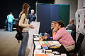 Wikimania 2014 WMF Grantmaking Booth 04.JPG