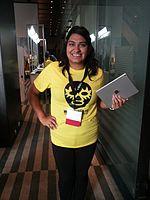Wikimania 2015-Thursday-Volunteers (2).jpg
