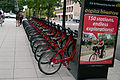 Wikimania washington streets bikes 13.07.2012.jpg