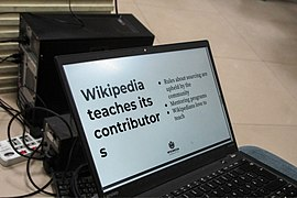 Wikipedia teaches its contributors (01).jpg