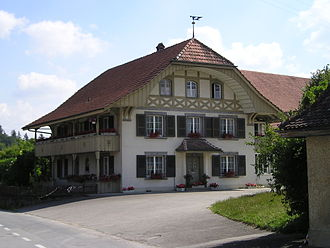 Wileroltigen - A farm house in the municipality