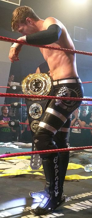 Will Ospreay - Ospreay as Progress Wrestling Champion