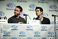Will Poulter & Dylan O'Brien (13925994701).jpg