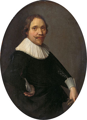 The Laughing Cavalier (novel) - Willem van Oldenbarnevelt, Lord of Stoutenburg, anonymous portrait from 1634.