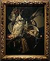 Willem van aelst, natura morta con cacciagione e armi, 1660 ca.jpg