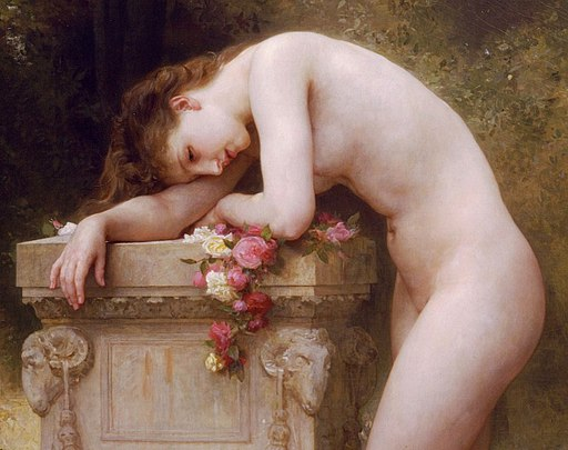 William-Adolphe Bouguereau - Douleur d'amour