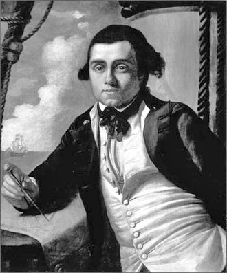 Complement of HMS Bounty - Image: William Bligh, 1775