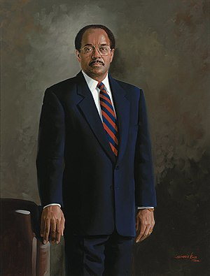 William H. Gray III - Portrait of Gray in the Collection of the U.S. House of Representatives