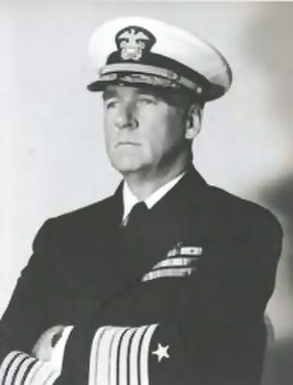 Battle of Iwo Jima - Rear Adm. William H.P. Blandy