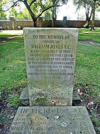 William Jones (VC) - Grave of William Jones