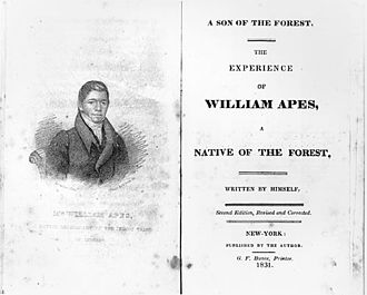 William Apess - Autobiography of William Apess