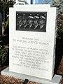 Woburn Service Women Memorial - Woburn, MA - DSC02772.JPG