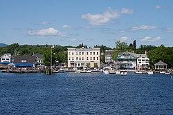 Skyline of Wolfeboro, New Hampshire