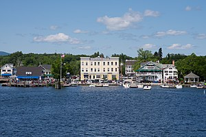 Wolfeboro, New Hampshire - Image: Wolfeboro Docks