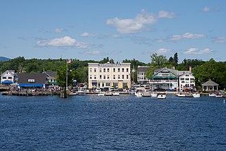 Wolfeboro, New Hampshire - Image: Wolfeboro Docks